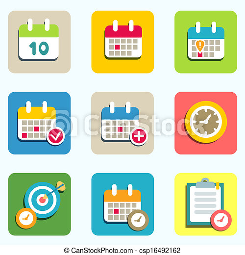 Calendar of Events Icon Calendar And Event Icons