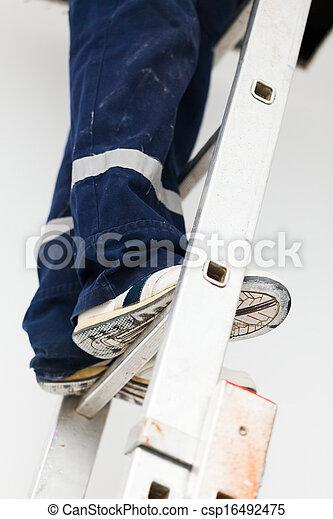 Stock de fotos fact tum escalera imagenes almacenadas for Escalera de electricista