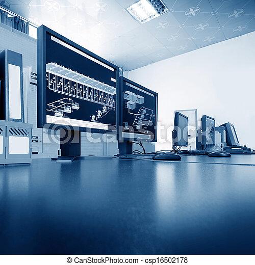 Computer control room - csp16502178