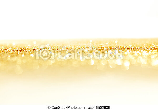 Holiday lights background - csp16502938