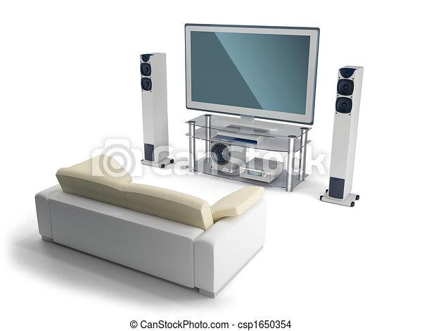 Multimedia center - csp1650354