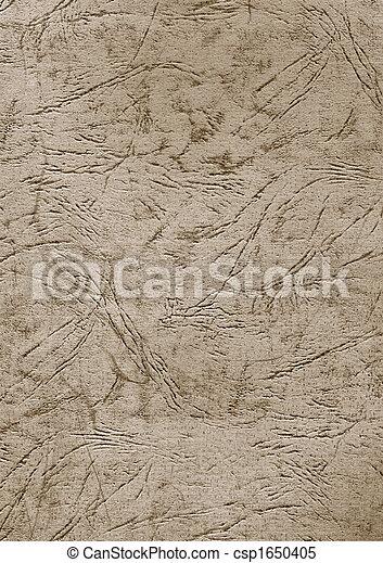 mönster, blad, gammal, lättnad, Papp - csp1650405