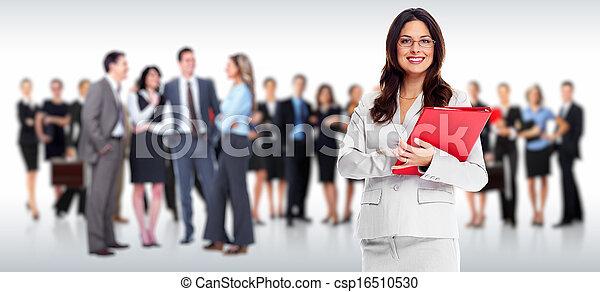 グループ, ビジネス, 人々 - csp16510530