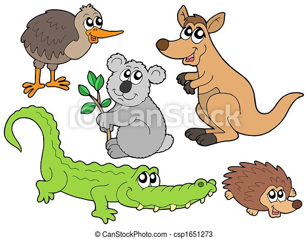 Australian animals collection - csp1651273