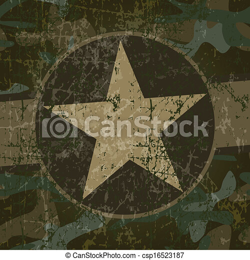 Military background - csp16523187