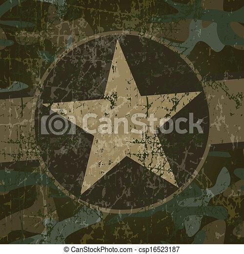 Military background - csp16523187