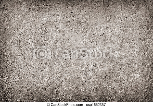 grunge concrete background - csp1652357