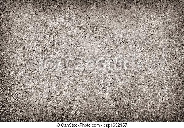grunge concrete background - csp1652357