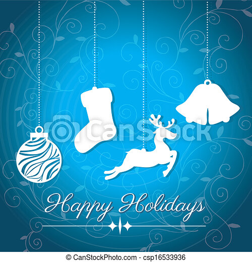 holidays design - csp16533936