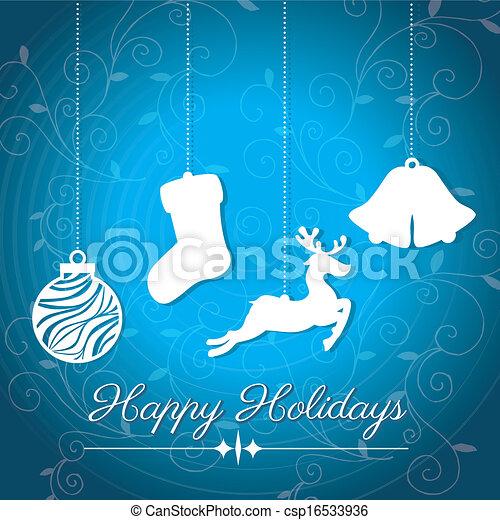 holidays design  - csp16533936