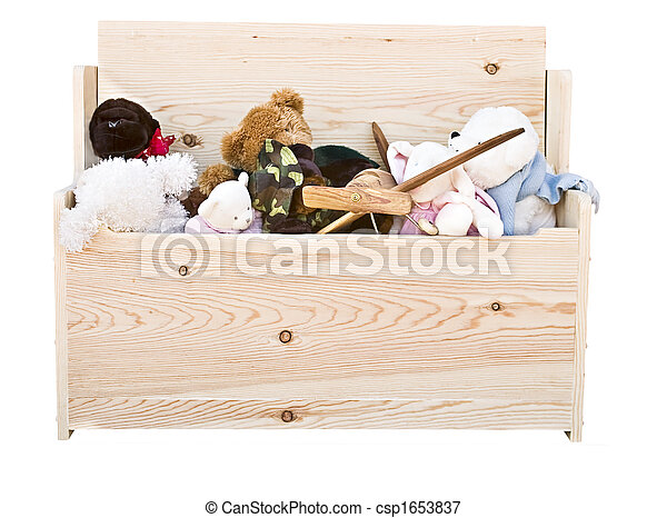 hand crafted toy box - csp1653837