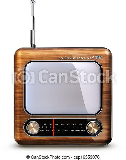 retro TV - csp16553076