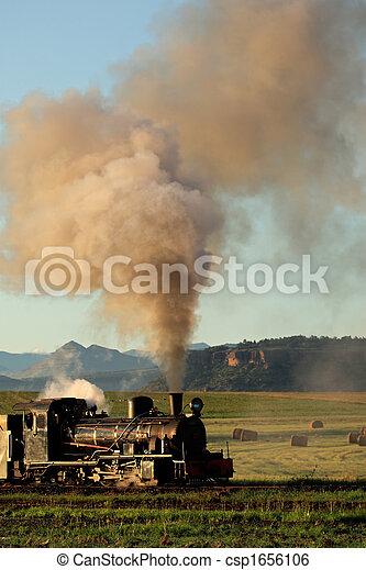 Steam locomotive - csp1656106