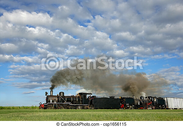 Steam locomotives - csp1656115
