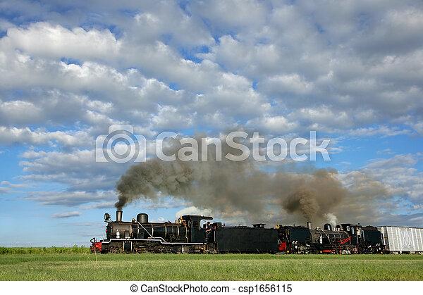 Steam locomotives - csp1656115