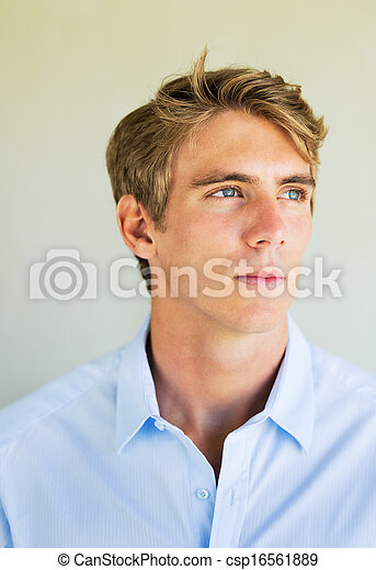 Young Professional, Portrait of Handsome business man - csp16561889