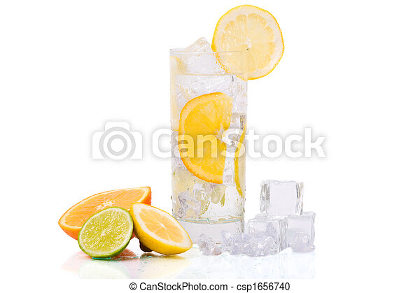 Refreshing Ice Drink - csp1656740