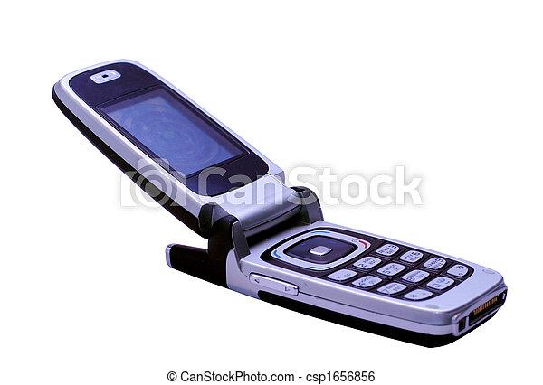 stock bild von freigestellt beweglich telefon vorrichtung csp1656856 suchen sie stock. Black Bedroom Furniture Sets. Home Design Ideas