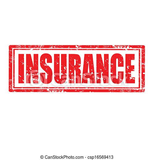 Insurance-stamp - csp16569413