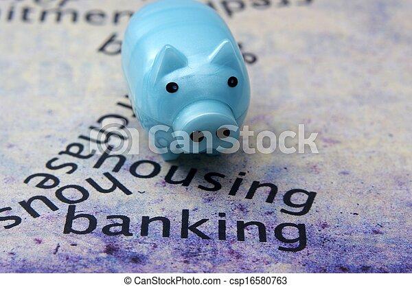 Housing banking target - csp16580763