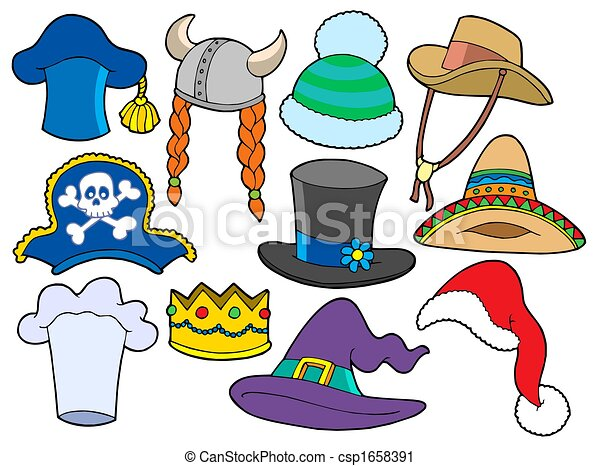 Various hats collection - csp1658391