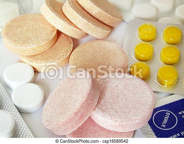 pharmaceuticals of different type - csp16589542