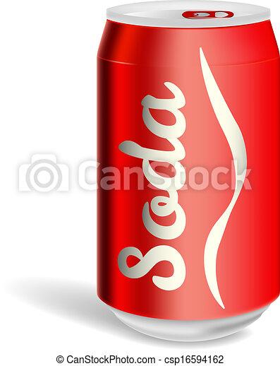 clip art de vectores de aluminio  soda  aislado  lata soda can clip art black and white free soda can clip art