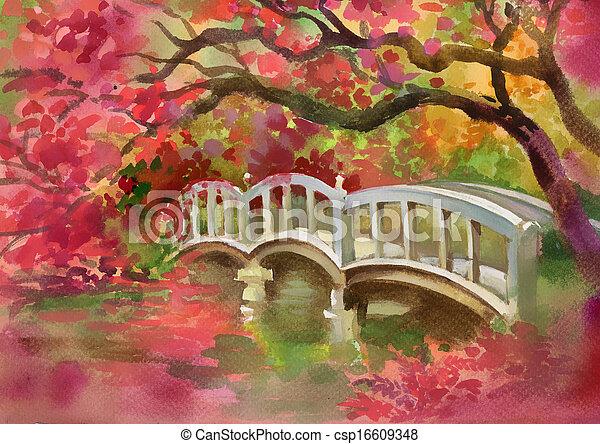 Bridge over the river - csp16609348