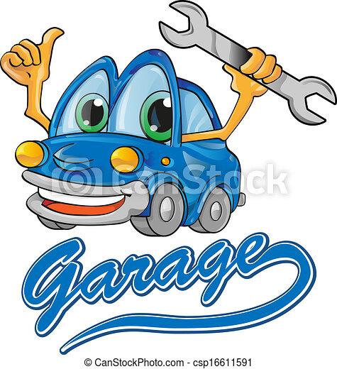 Vecteurs eps de voiture isoler dessin anim service for Garage autoservices les ulis