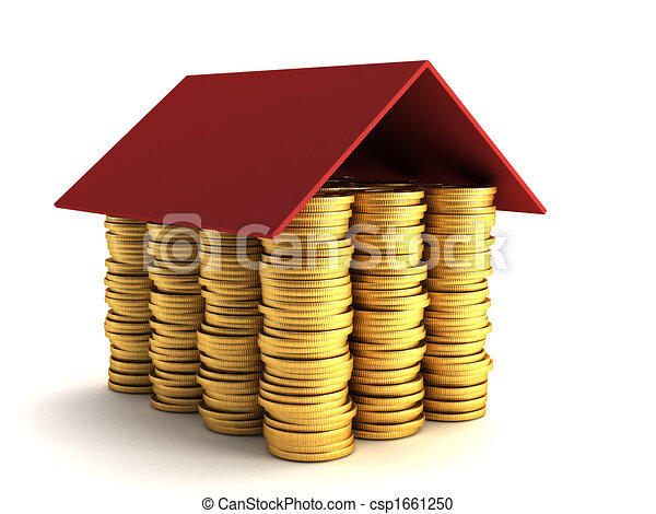 mortgage concept - csp1661250