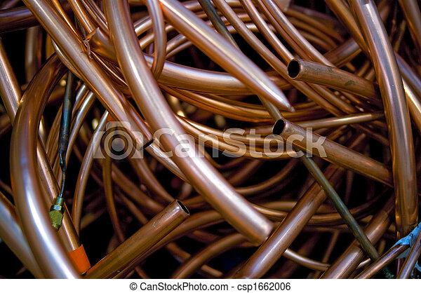 Copper pipes loose - csp1662006