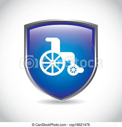 wheelchair - csp16621476