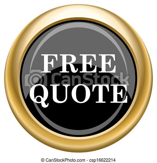 Quote Icons Free Free Quote Icon Csp16622214