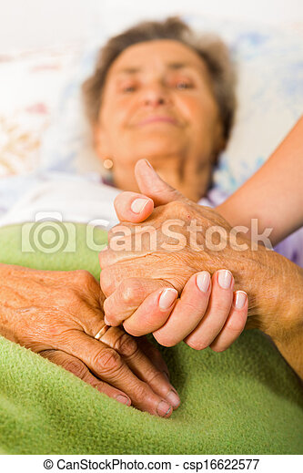 Care Love and Trust for Elders - csp16622577