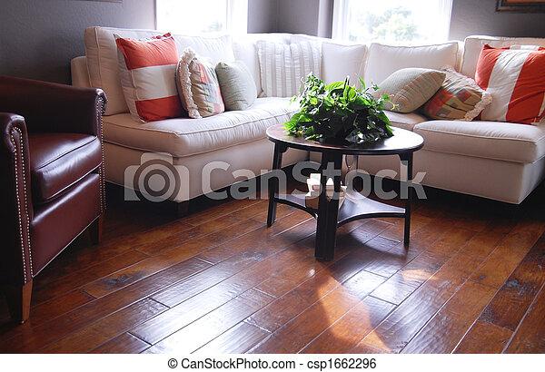 Hardwood flooring - csp1662296
