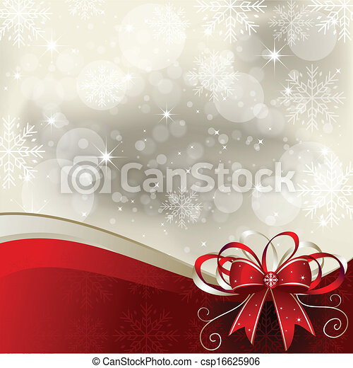 Christmas Background - Illustration - csp16625906