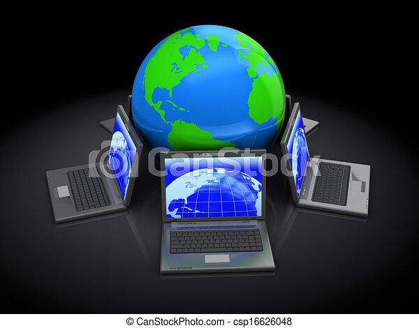 global network - csp16626048
