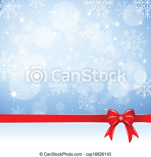 Christmas Background - Illustration - csp16626143