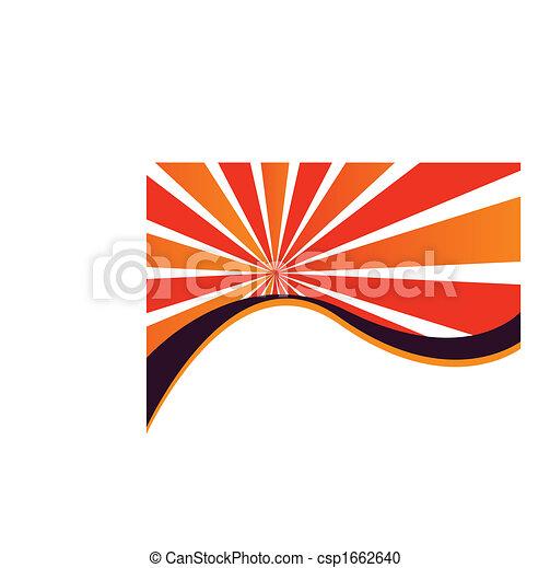 Sunburst Wave - csp1662640