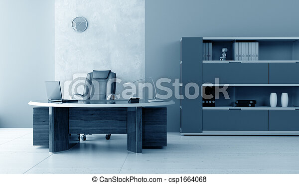modern office interior - csp1664068