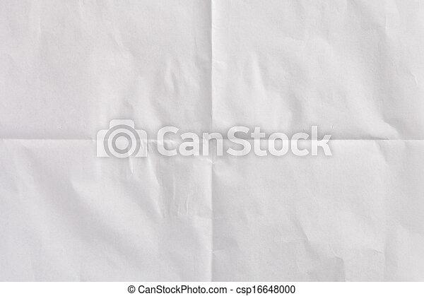crumpled paper - csp16648000