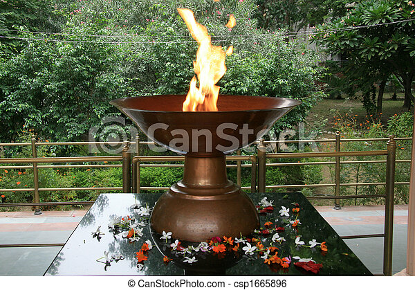 Eternal Flame - Jallianwala Bagh Park, Amritsar, India
