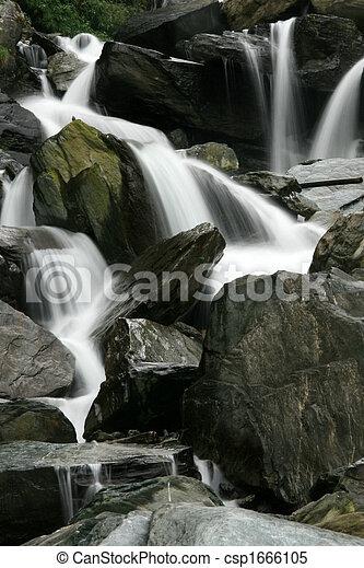 Bhagsu Waterfall, India - csp1666105