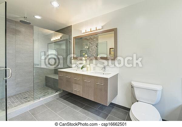 stock fotografie von badezimmer toilette luxus haus csp16662501 suchen sie fotos bilder. Black Bedroom Furniture Sets. Home Design Ideas