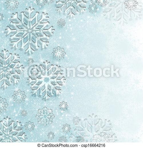 Winter Wonderland Sparkle - csp16664216