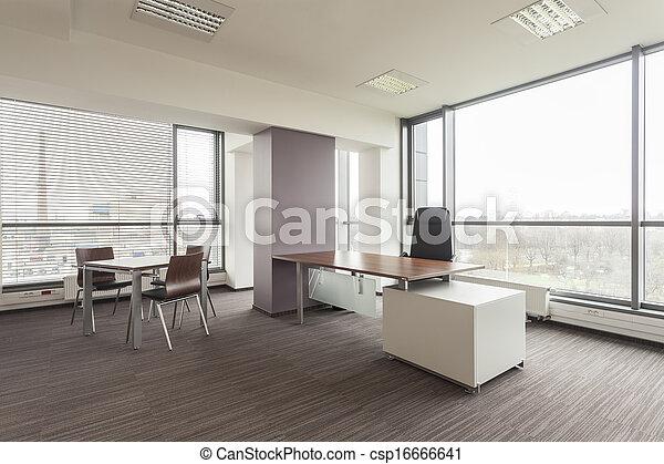 escritório, mobília - csp16666641