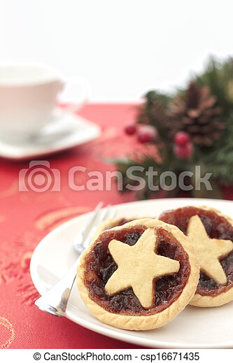 Home made mince pies - csp16671435