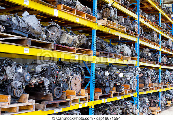Automobile Engine Blocks - csp16671594