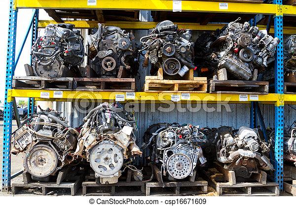 Automobile Engine Blocks - csp16671609