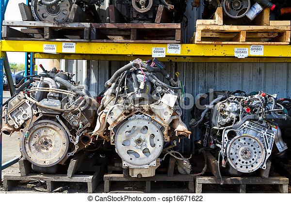 Automobile Engine Blocks - csp16671622